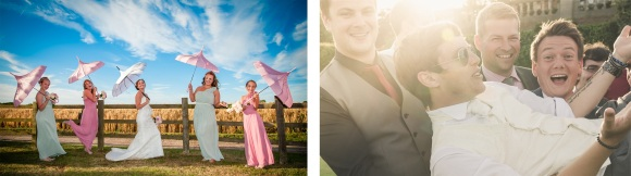 Capturing the fun of the wedding day