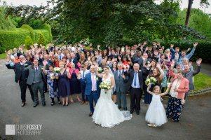 Cassie & Adam's Wedding Photogaphy at The Saxon Mill Warwick-68