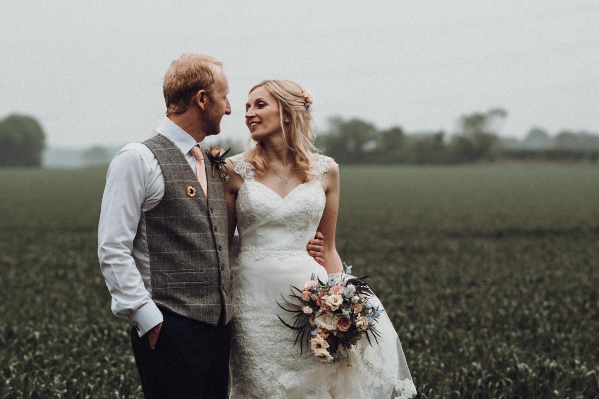 Shustoke Farm Barn Warwickshire Wedding Photographer Chris Fossey Photography Emma Ian Banner