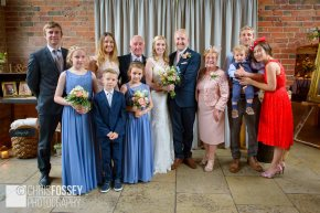 Emma Ian Wedding Photography Shustoke Farm Barns Warwickshire-46