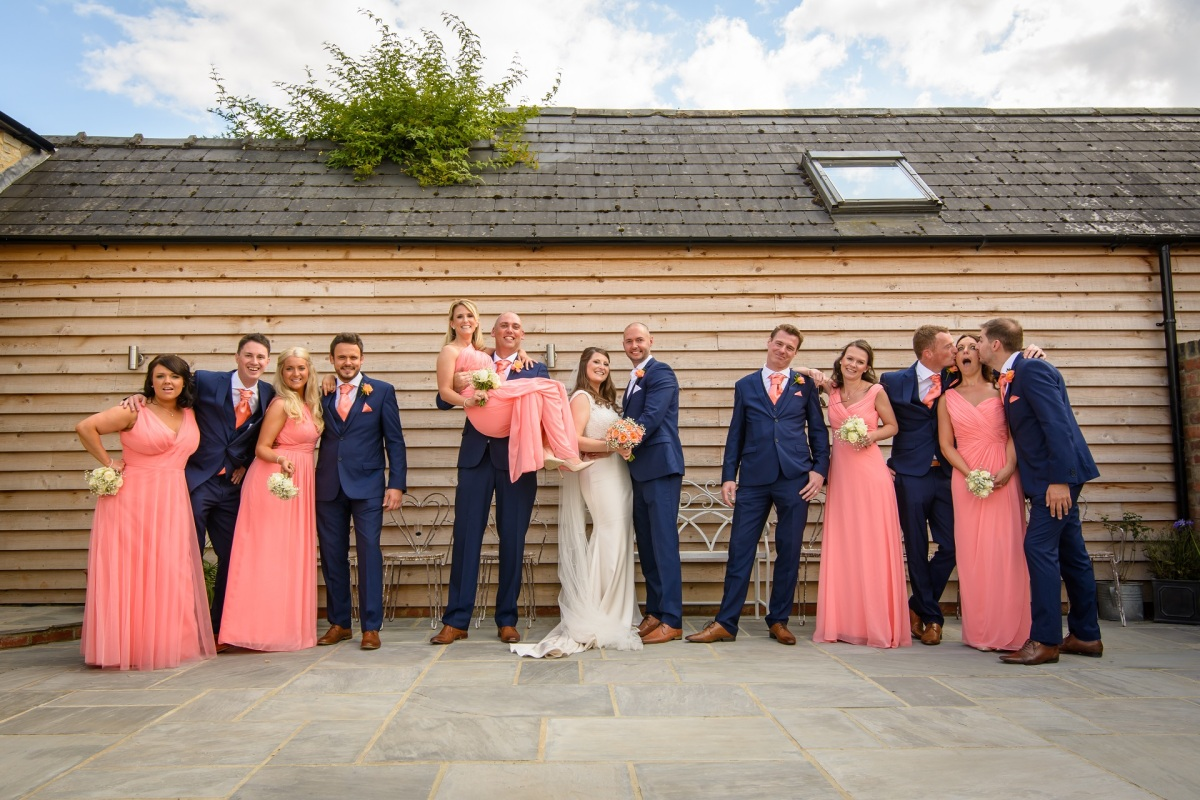 Blackwell Grange Warwickshire Wedding Photography Lorna Ryan