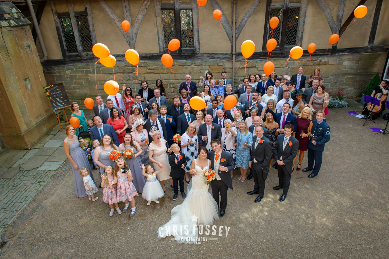 St Marys Warwick Lord Leycester Wedding Photographer by Chris Fossey Photography (8 of 16)