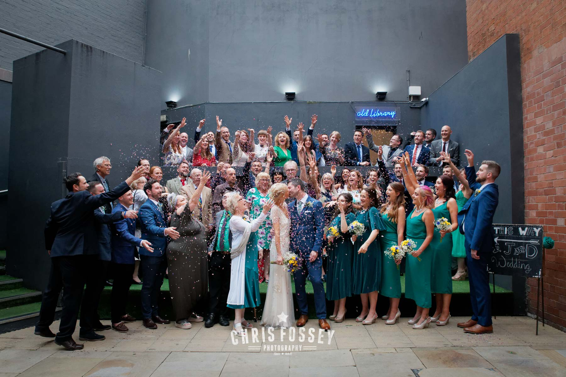 Wedding Photography The Old Library Digbeth Birmignham B9 4AT