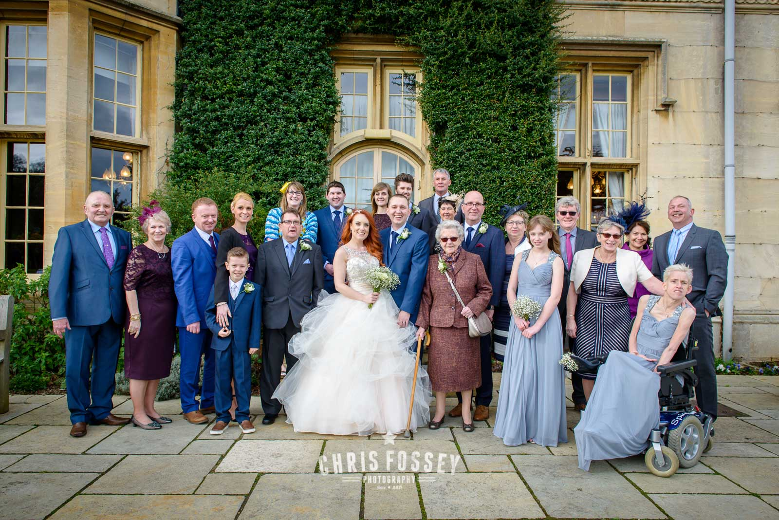 Dumbleton Hall Worcesterhsire Wedding Photography North Warwickshire by Chris Fossey Photography