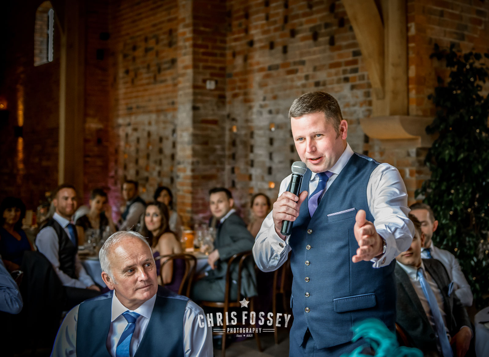 Shustoke Farm Barns Wedding Photography by Chris Fossey Photography Warwickshire Photographer