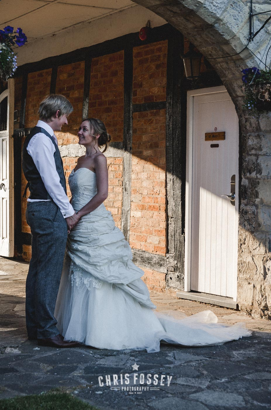 Salford Hall Hotel Evesham Warwickshire Wedding Photographer by Chris Fossey Photography